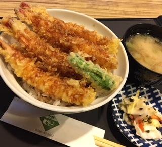 海老(えび)天丼