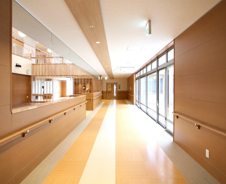 1F|多目的ホール 廊下
