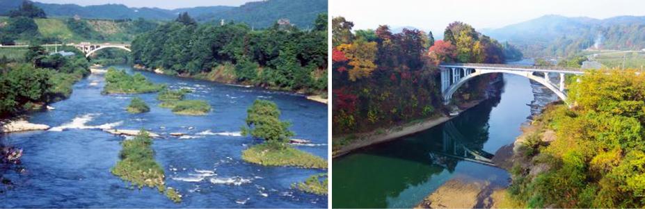 母なる川〜最上川:画像