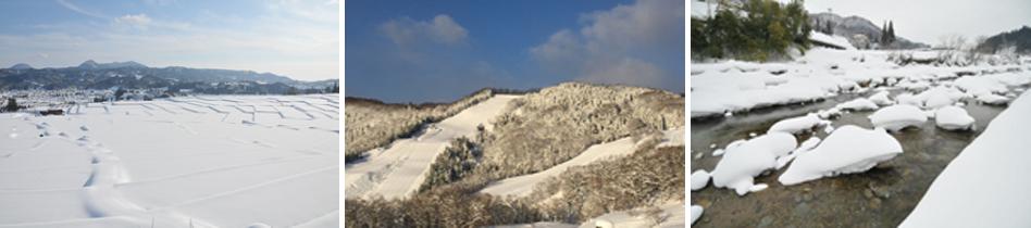 朝日町の『冬-Winter』