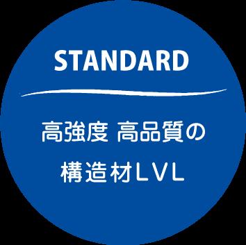 高強度・高品質の構造材LVL