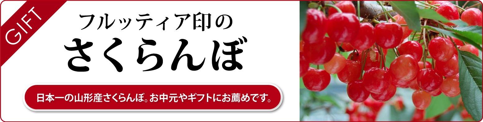 フルッティア印のさくらんぼスペシャルギフト|お中元にさくらんぼの贈り物をどうぞ
