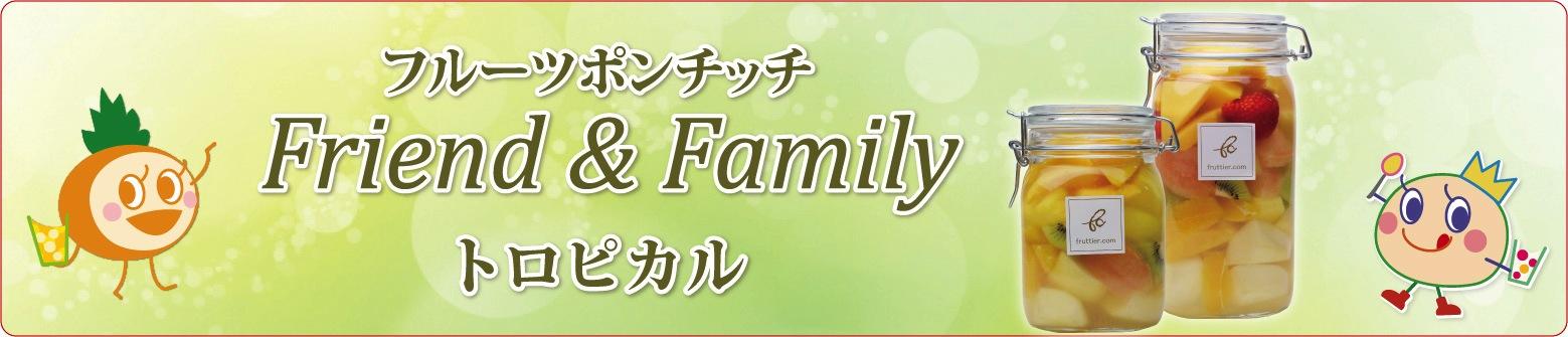 フルーツポンチッチFriend&Family〈トロピカル食べ比べ〉入学祝い/内祝い/パーティー/プレゼントにどうぞ♪