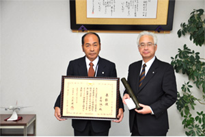 菅野誠一民生委員厚生労働大臣表彰受賞