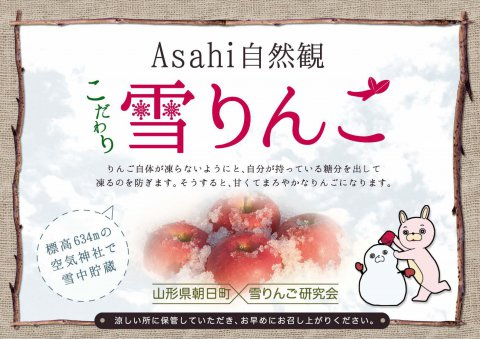 【完売御礼】【お知らせ】5/3(水)「雪りんご」発売!:画像