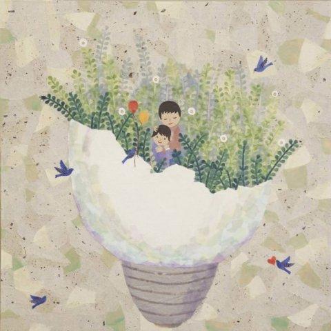 置賜若手作家の展覧会「三月の画廊」出展作品(4):画像