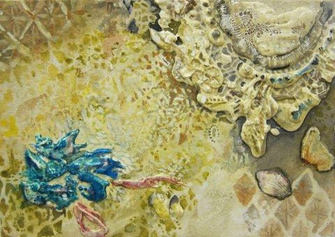 置賜若手作家の展覧会「三月の画廊」出展作品(20):画像