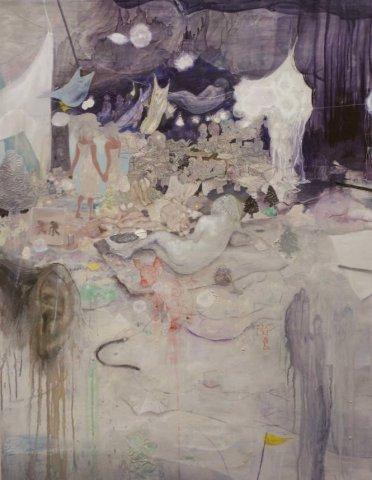 置賜若手作家の展覧会「三月の画廊」出展作品(21):画像