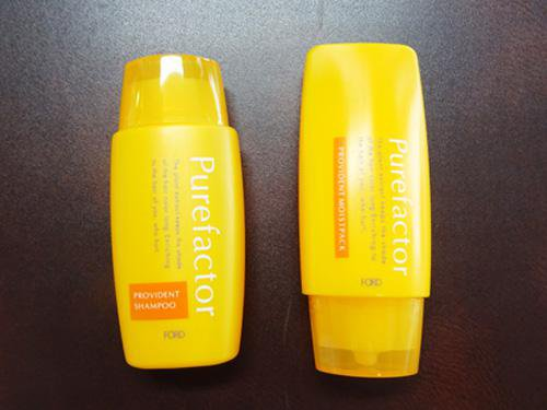 【応募終了】フォードヘア化粧品 ピュアファクターシャンプートリートメントミニボトルを2名に:画像