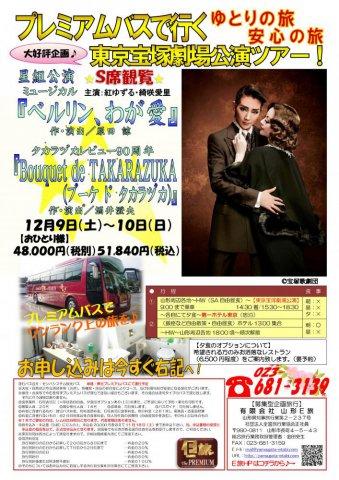 プレミアムバスで行く!東京宝塚劇場公演ツアー★:画像