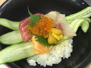 【海鮮丼】お客様のリクエストにお応えして作りました:画像
