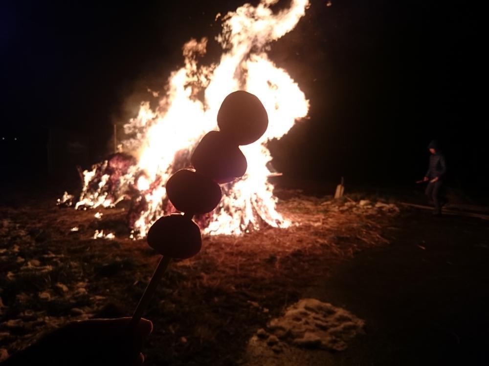 城燃える 玉こんにゃくの 影映る:画像