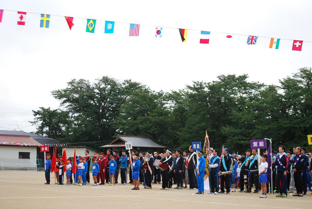 10月8日第67回平野地区民ふれあい運動会開催:画像