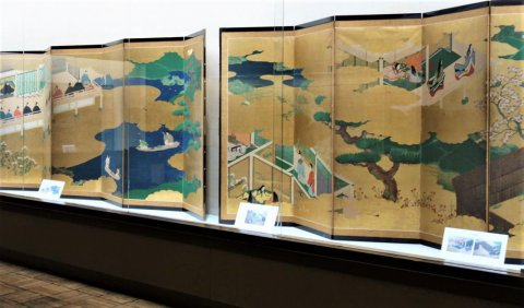 【開催中】大画面で楽しむ日本の美 屏風絵の世界:画像