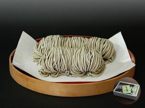 山形県尾花沢 星川のなま麺  花笠そば(田舎蕎麦)ギフト箱10食入:画像