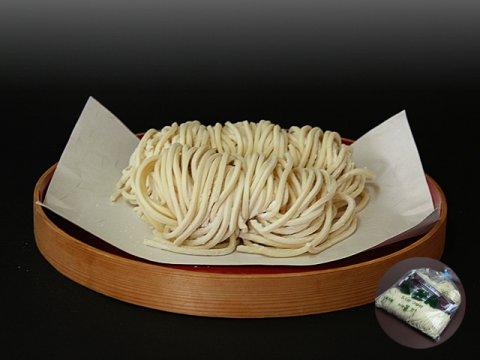 山形県尾花沢 星川のなま麺 冬限定うどん(5食入/つゆ付):画像