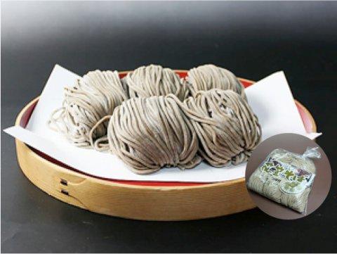 冷たい肉蕎麦 5食(5食×1袋/つゆ付):画像