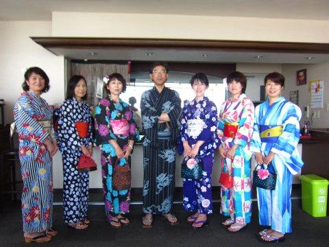 秋桜倶楽部 松島浴衣でめぐる女子会:画像