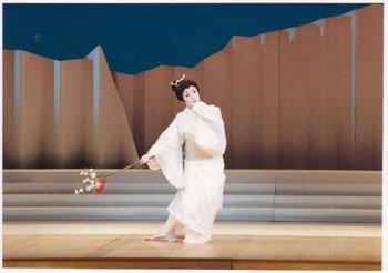 日本舞踊家 乾参上:画像