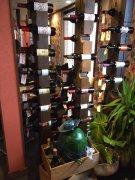 オシャレなワイン棚:画像