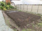 秋の家庭菜園:画像