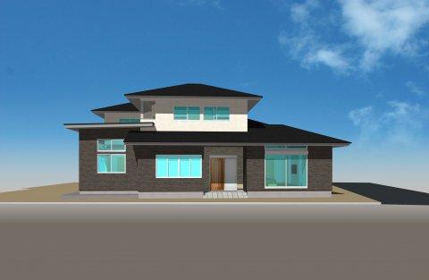 和モダンSTYLE FREE 同居型二世帯住宅:画像