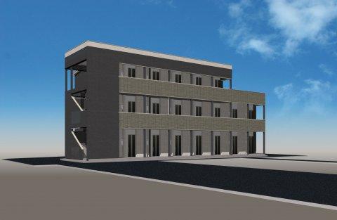 3F建てデザイナーズアパートメント:画像