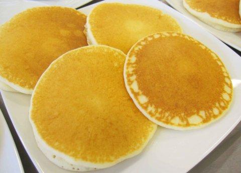 《米粉レシピ》米粉パンケーキ:画像