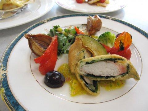 《米粉レシピ》白身魚のフリッターパイナップルソース:画像