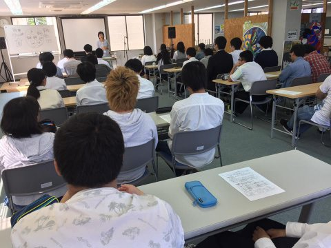 平成29年8月専務進路指導スケジュール:画像