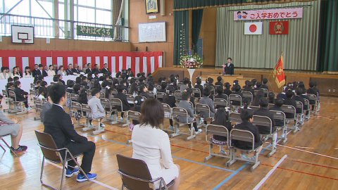 4月16日〜放送 みんなの世界米沢市立東部小学校 「入学式」:画像