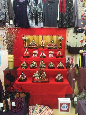 十日町 糸惣さまの雛飾り:画像