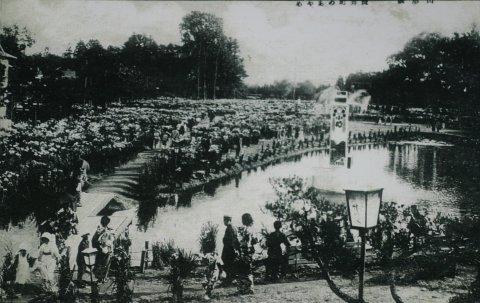 あやめ公園開園記念碑物語:画像