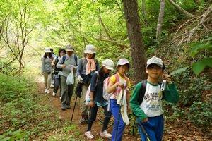 カメラで楽しむ熊野山トレッキングを開催しました:画像