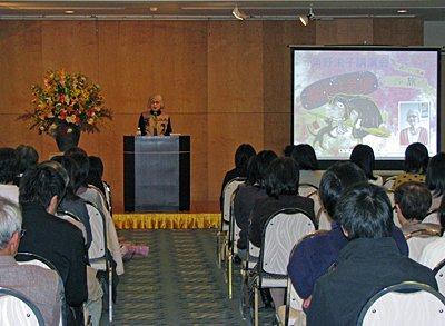 【角野栄子さんの講演会】:画像