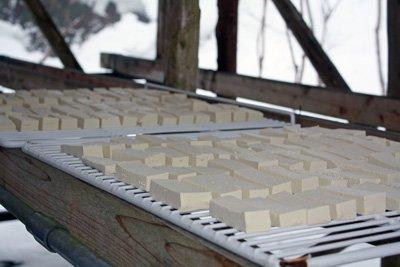 【伊佐沢特産 大石の凍み豆腐】:画像