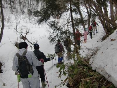【熊野山スノートレッキング2010】:画像