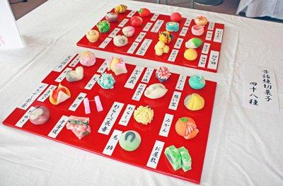 【魅惑の和菓子展〜動画アップしました♪】:画像