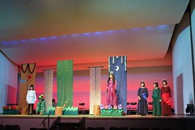 【長井市少年少女合唱団のミニミュージカル】:画像