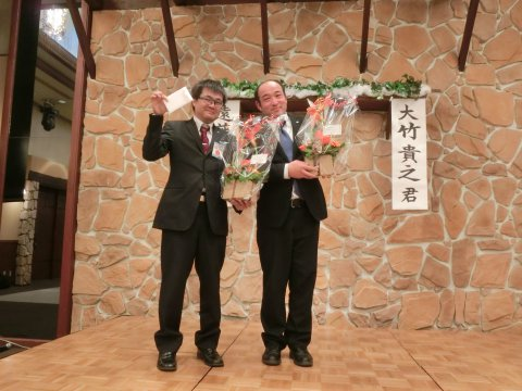 11/18 11月例会卒業式:画像