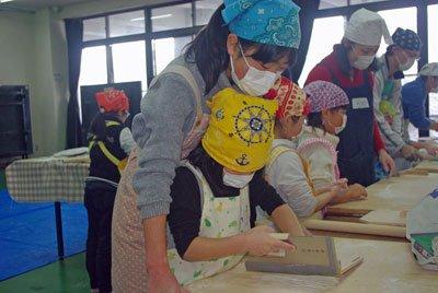 ☆親子チャレンジ教室 そば打ち体験教室2018:画像