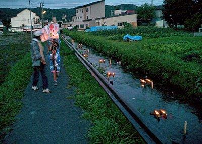 【撞木川のキャンドルナイト】:画像