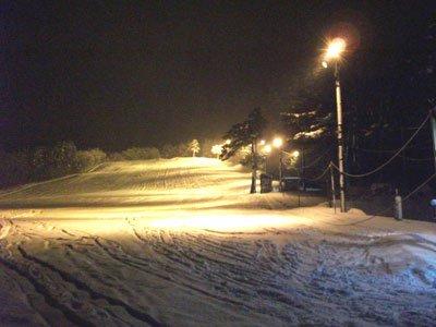 【白山森スキー場オープン!】:画像