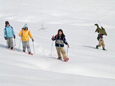 【縄文村スノーシュー・ハイキング2011】:画像