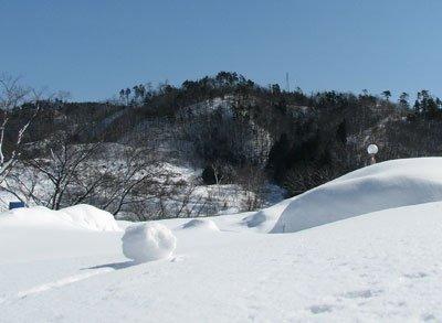 【雪のひな祭り】:画像