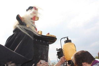 【第22回ながい黒獅子まつり〜草岡 津嶋神社】:画像