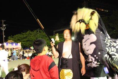 【第22回ながい黒獅子まつり〜宮 總宮神社】:画像