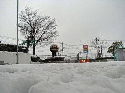 【お天気もホワイトクリスマスに向けて準備中!】:画像