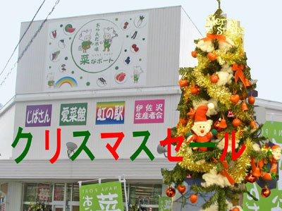 【菜なポートクリスマスセール明日から開催♪】:画像