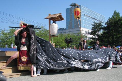 【第23回ながい黒獅子まつり〜平山 熊野神社】:画像